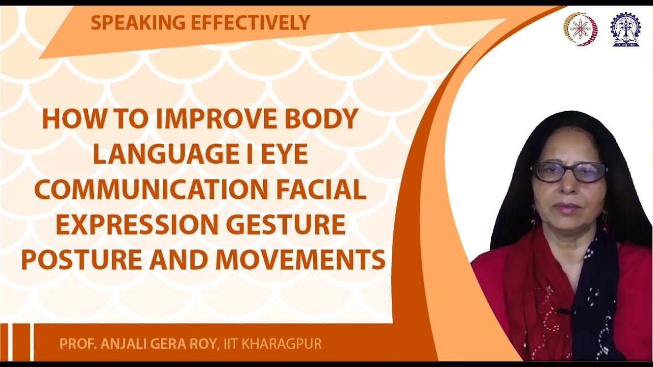 How to Improve Body Language I Eye communication Facial Expression Gesture  Posture and Movements