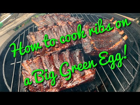 How To Cook Ribs On A Big Green Egg