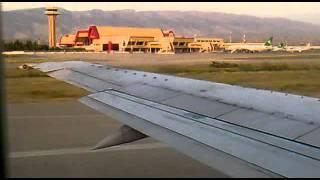 БелАвиа. взлет из Ашгабада. Belavia. take off boeing 737-500 from Ashgabat.mp4