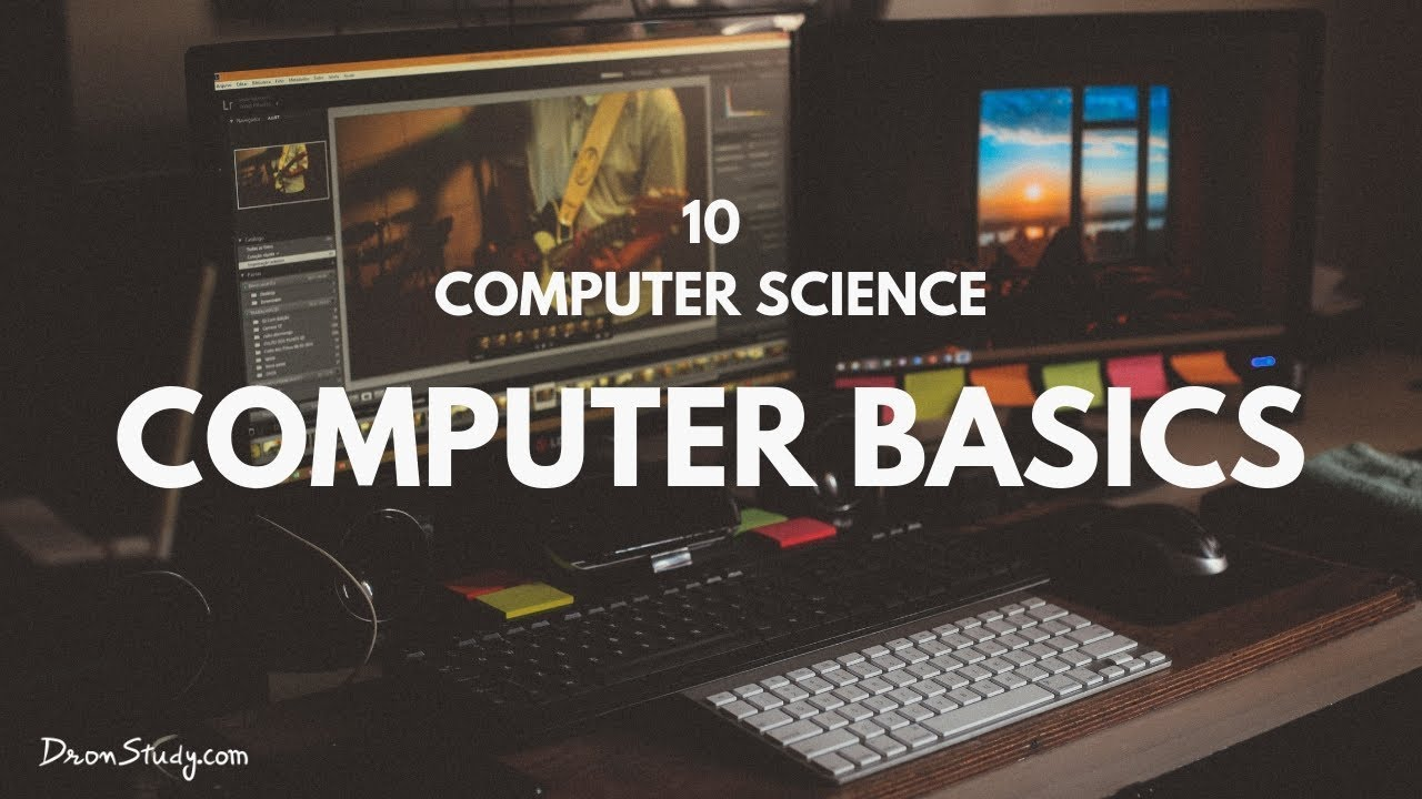 Computer Basics Class 10 X Science Youtube Parts Diagram Hardware In Plain