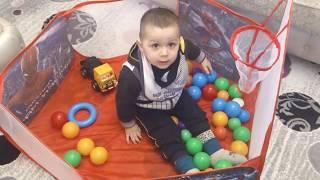 Toy basketball game for kids - Uşaqlar üçün oyuncaq basketbol