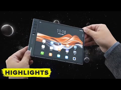 Royole officially unveils the FlexPai 2 foldable phone!