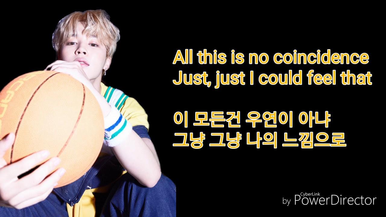 JIMIN - SERENDIPITY lyrics [English/Hangul]