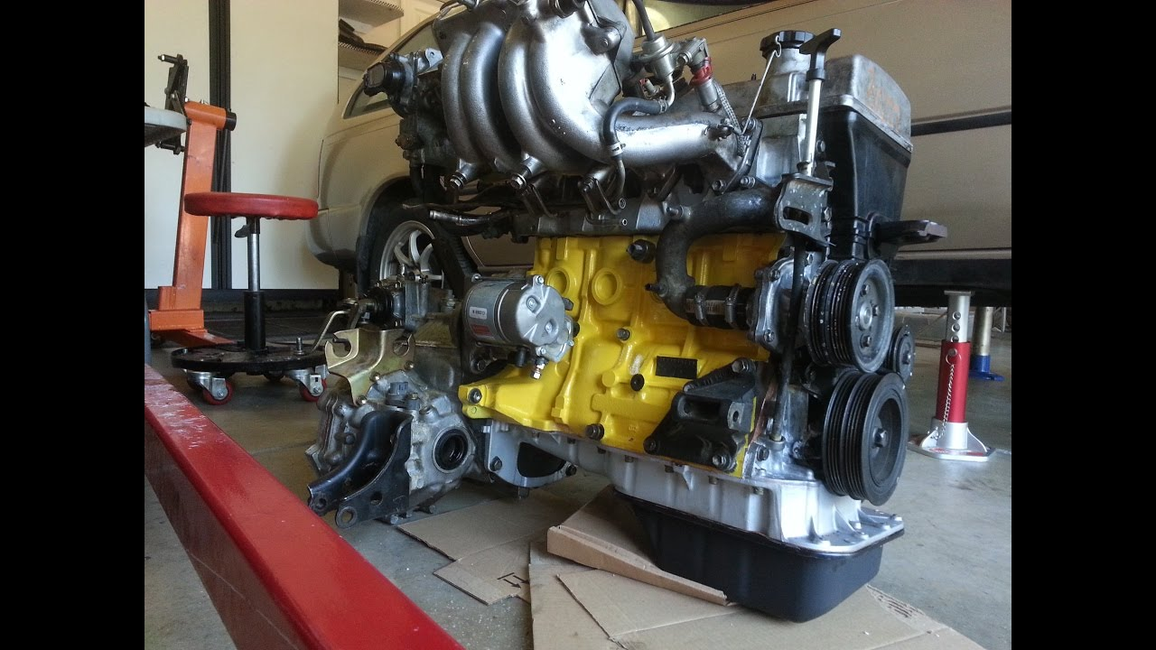 How To Rebuild A 7afe 4afe Toyota Corolla Yellow