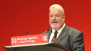 Dave Anderson's speech to Annual Conference 2016