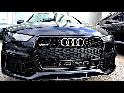 2017 Audi RS7 Performance Package in 4K Ultra HD! - Quick Review by John D. Villarreal