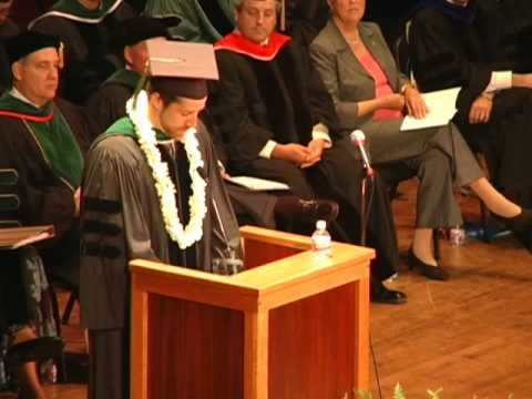 Medical Student Message -- Commencement 2010 (pt. 2)