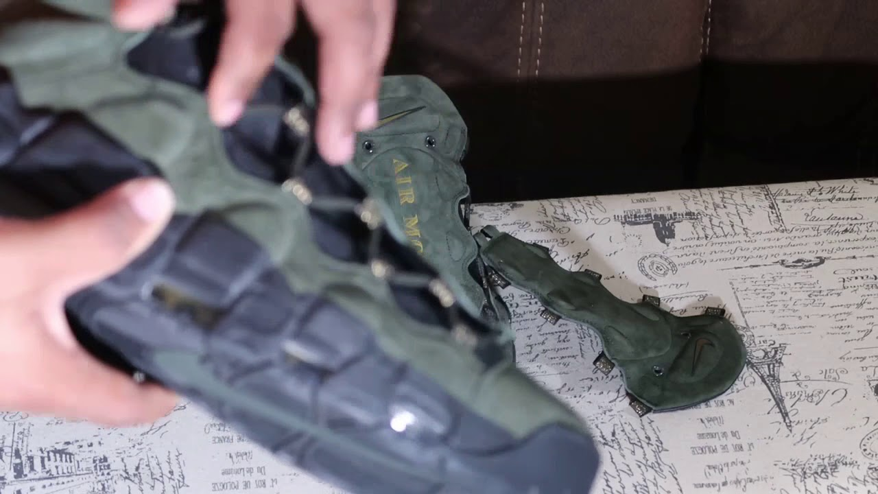 NIKE AIR MORE MONEY QS UNBOXING AND REVIEW!!!!!!!