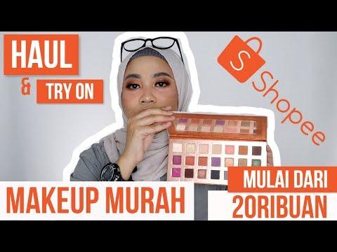 HAUL MAKEUP MURAH DI SHOPEE | PRODUK BARU OTWOO thumbnail