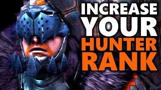 INCREASE YOUR HUNTER RANK FAST - Monster Hunter World Gameplay - 'A Nose for an Eye'