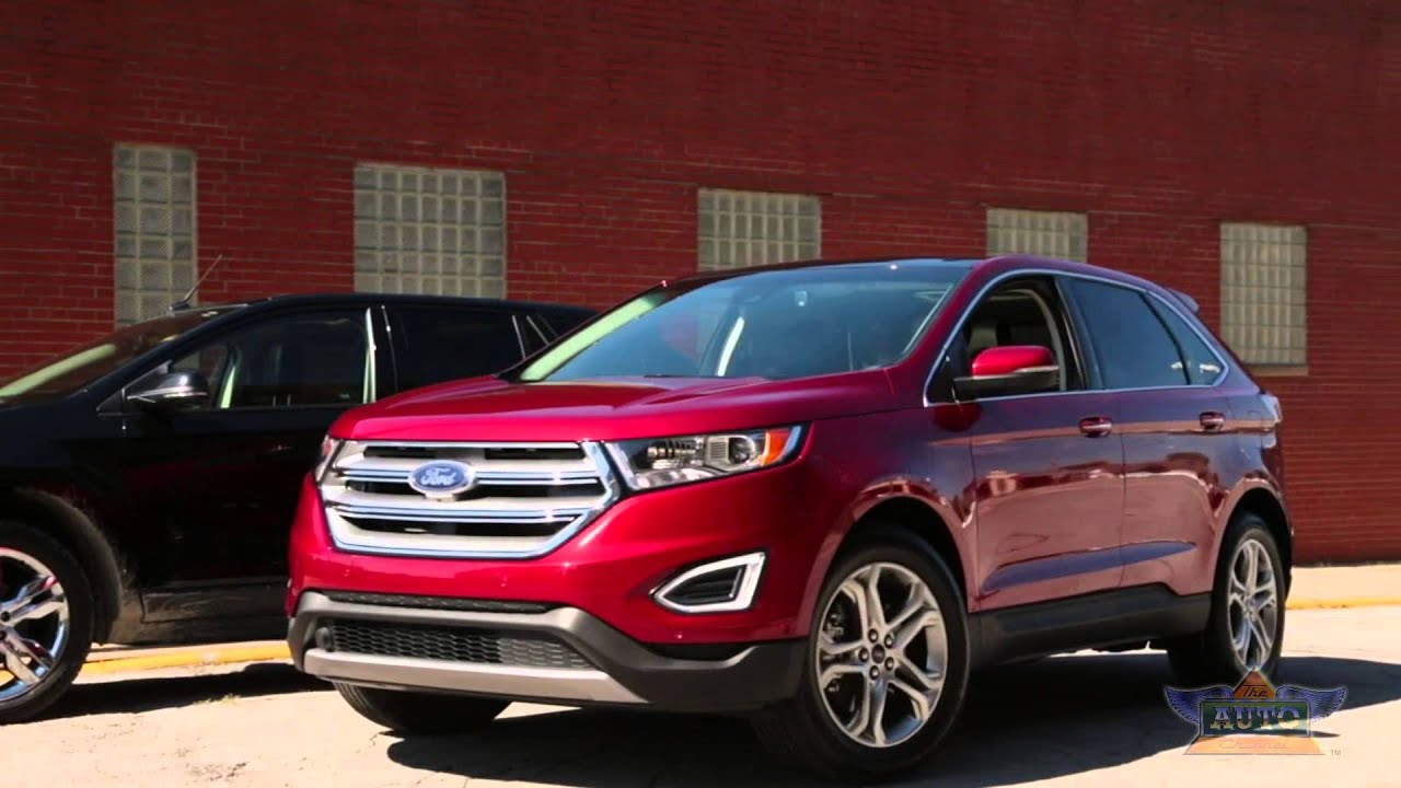 All New  Ford Edge Driver Assist Technologies