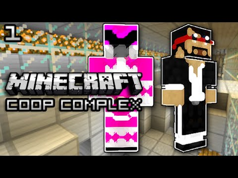 Minecraft: Co-op Complex W/ Nick Part 1 - We Suck?