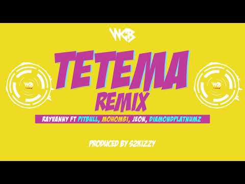 Rayvanny Ft Pitbull, Mohombi, Jeon & Diamond Platnumz - Tetema Remix (Sms SKIZA 8547465 to 811)