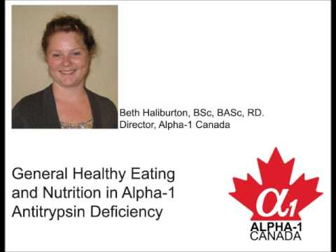 Drop-in Support Group Meeting 06 - General Healthy Eating and Nutrition in Alpha 1