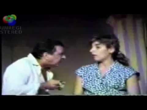 Mónica Salvador en La valija 1989 con Julio de Grazia