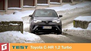 Toyota C-HR 1,2 Turbo - TEST - GARÁŽ.TV - Rasťo Chvála