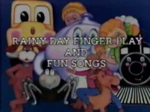 See and Sing: Rainy Day Finger Play and Fun Songs