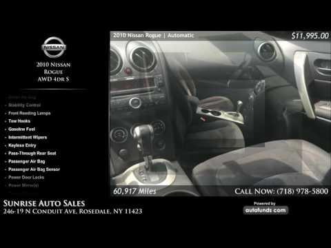 Used 2010 Nissan Rogue | Sunrise Auto Sales, Rosedale, NY