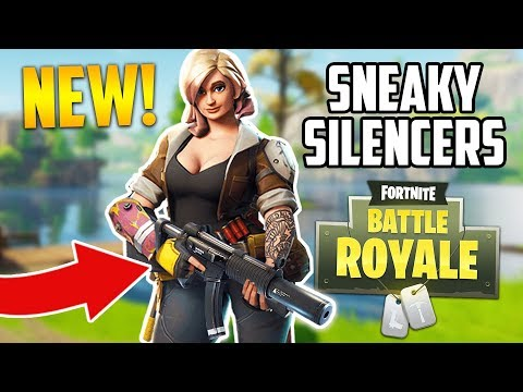 BEST SQUAD EVER!! *SNEAKY SILENCERS* (Fortnite Battle Royale)
