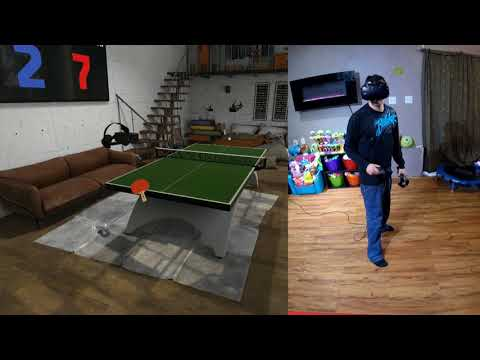 Eleven Table Tennis VR Gameplay