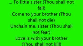 Gerard McMann Cry Little Sister (Lyrics)