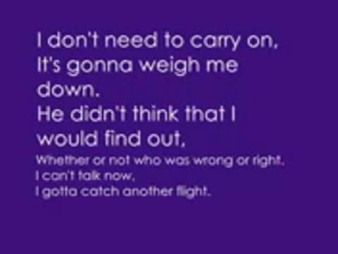Chris Brown Ft Andre Merrit Flying Solo With Lyrics