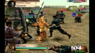 Dynasty Warriors 3- Tong Gate gameplay