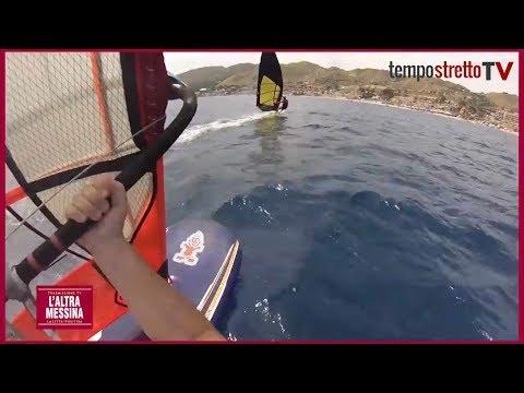 Windsurf, kite e vela: tutti gli sport praticati nello Stretto