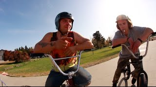 Game of Bike - Tyler & Nathan Part 2! *WOOZY BMX exclusive*