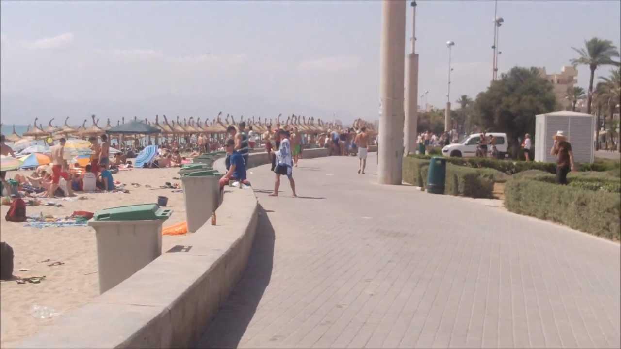 mallorca majorca playa de palma zwischen balneario 6 und