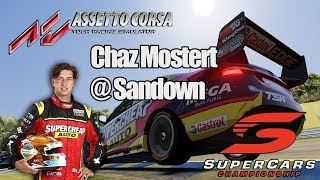 V8 Supercars - ASSETTO CORSA - Chaz Mostert at Sandown Raceway 10 lap race