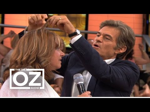 Dr Oz Demonstrates How to Find Out How Healthy Your Hair Is