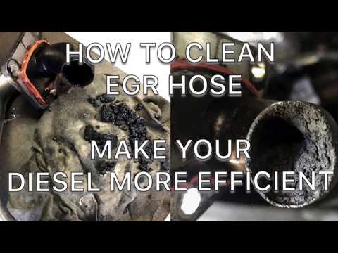 EGR CLEAN - MUST DO TO ANY MERCEDES Ml 320 cdi w164 OR OM642 ENGINE OR JEEP GRAND CHEROKEE