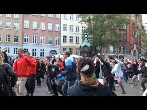 Copenhagen (Kultorvet) Flash Mob 2010
