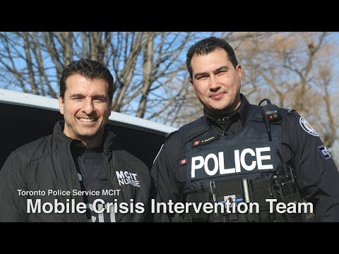 @TorontoPolice Mobile Crisis Intervention Teams (MCIT): Partners In Safety