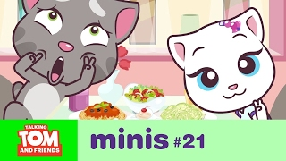 talking tom and friends minis camera shy episode 21