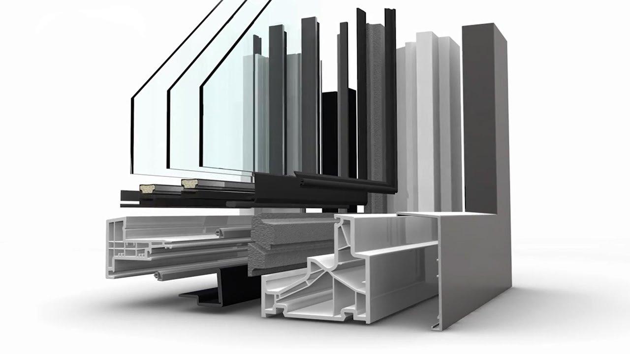 Kunststoff/Aluminium-Fenster KF 500 von Internorm - YouTube