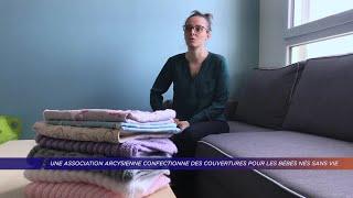 Yvelines | Une association arcysienne confectionne des couvertures pour les bébés nés sans vie