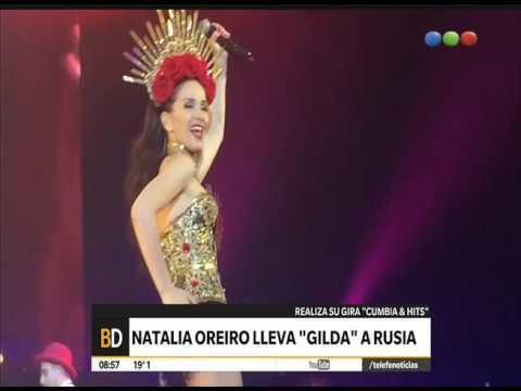 Natalia Oreiro Lleva Gilda A Rusia – Telefe Noticias