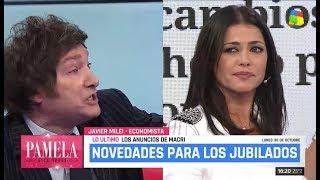Javier Milei contra los campeones del buenismo, América TV- 30/10/17