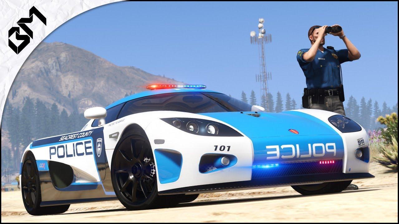 GTA 5 - LSPDFR - HOT PURSUIT POLICE - HIGHWAY PATROL UNIT