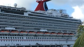Carnival Dream Cruise January 2015