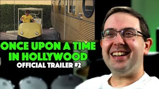 REACTION! Once Upon a Time in Hollywood Trailer #2 - Margot Robbie Movie 2019