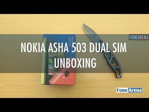 Nokia Asha 503 Dual SIM Unboxing