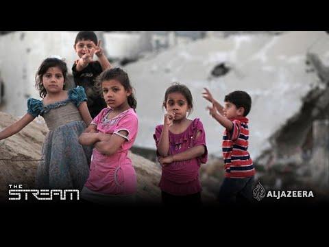 The Stream - Gaza's shattered children