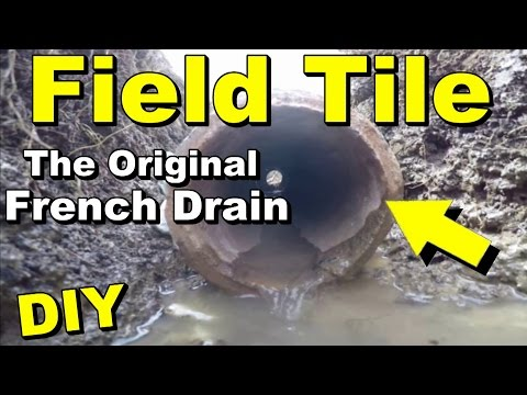 Original French Drain, What You as Your Own Contractor Need to Know