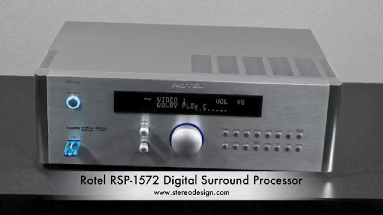 AV Rotel RSP-1572 Silver