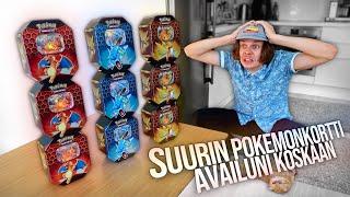 Avataan 400€ yhteensä 36 Pokemon -pakettia! (Hidden Fates)