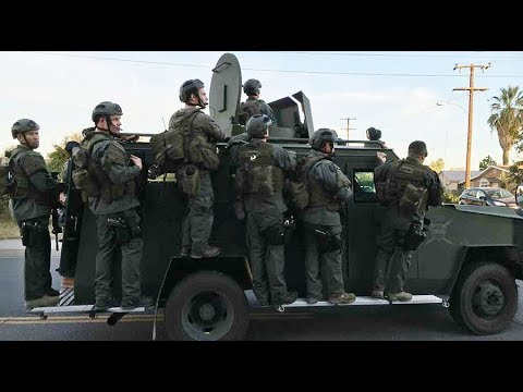 Growing police militarization provokes outrage in communitie