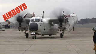 "Grumman C-2 Greyhound VRC-40 ""CODs"" Return Home"